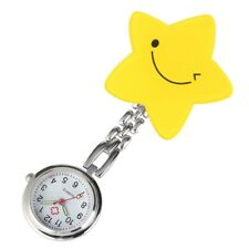 Nurse Doctor Style Brooch Pendant Round Quartz Pocket Watch Luminous Watches