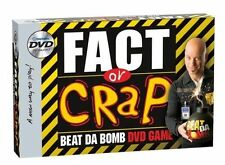 Fact or Crap (DVD Game, 2001) NEW Sealed