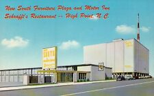 New South Motor Inn & Furniture Plaza, High Point, North Carolina --- Postcard