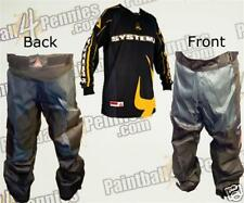 PAINTBALL PRO PANTS  AND JERSEY COMBO (YELLOW) SYSTEM X
