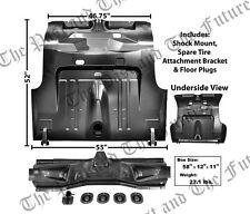 1971 ~ 1973 Mustang Fastback Complete Trunk Floor - Heavy Gauge - MSTK7173-2