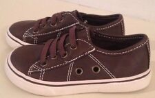 Childrens Place Shoes 7 Toddler Brown Sneaker Renegade Slip On Nwot