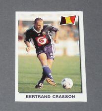 35 CRASSON ANDERLECHT BELGIQUE BELGIË DIABLES PANINI SUPER FOOTBALL 99 1998-1999