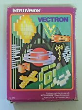 Vintage Intellivision VECTRON Video Game 1982 in Box