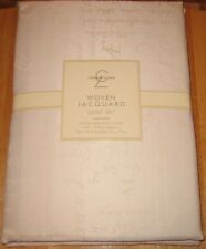 BNWT- Catherine Lansfield - DOUBLE - Woven Jacquard Bed Linen -50%cotton/50%poly