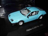 ALP1M Voiture 1/43 eligor RENAULT Alpine : A310 V6 bleu 1981