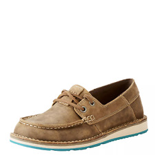 Ariat 10023017 Women Cruiser Castaway Brown Bomber Western Shoe