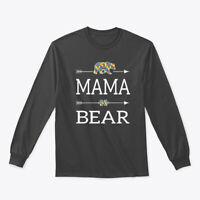 Mama Bear Autism Awareness Gildan Long Sleeve Tee T-Shirt