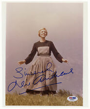 Julie Andrews Signed 8'' x 10'' Photo The Sound of Music PSA/DNA