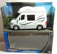 TEAMSTERZ CITY DIECAST MOTORHOME - WHITE - 1372826 - BOXED - MODEL LENGTH 13CM