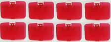 8 Watermelon Berry Red Memory Expansion Jumper Pak Cover Lid Nintendo 64 N64 F7