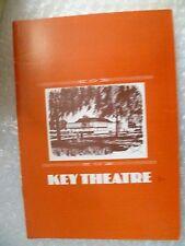 1980 Key Theatre Programme A GALA NIGHT OF GILBERT AS SULLIVAN