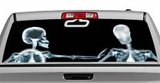 Truck Rear Window Decal Graphic [Miscellaneous / X-ray & Rosie] 20x65in DC15602