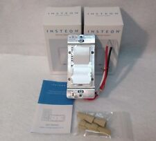 NEW 2 Insteon 2477D SwitchLinc Dimmer Switches, 600W - White - New In Box
