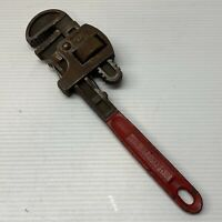 """Vintage 10"""" Pipe Monkey Wrench Plumbing Made In Germany"""