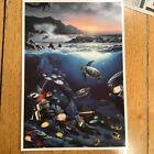 Vintage 1991 Wyland Maui Print