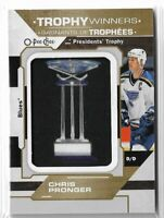 2019-20 O-pee-chee OPC hockey Chris Pronger Trophy Winners Manufactured Patch