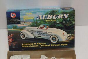 Vintage Pyro 1935 Classic Auburn Roadster Model Kit #331-98 - Unassembled