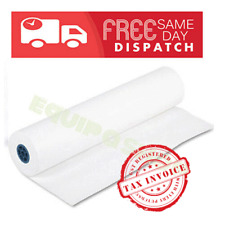 White Wrapping Packaging Kraft Paper Roll 50 GSM 900mm wide /Plz choose length
