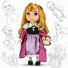 Disney Princess Animators Collection Doll Figure Aurora with Plush Friend Owl