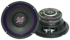 Pyramid Car Audio WH68 New 6' 200 Watts High Power Paper Cone 8 Ohms Subwoofer