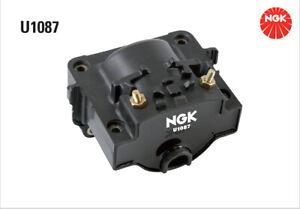 NGK Ignition Coil U1087 fits Toyota Corolla 1.6 (AE101), 1.6 (AE92), 1.6 SECC...