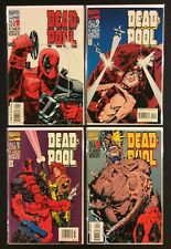 DEADPOOL #1 - 4 Comics Vol 1 FULL SET Marvel 1994 F/VF Juggernaut MERC w/ MOUTH