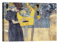 QUADRO Gustav Klimt Musik Stampa su tela Canvas effetto dipinto
