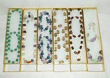 6 Necklaces & 5 Bracelets crystal/reiki/gemstone comes w gift boxes