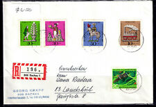 Germany 1969 Registered Cover - Dachau Cds - Addressed