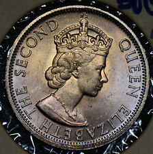 Malaya and British Borneo 1961 50 Cents UNC nice blue and golden toning M0185 co