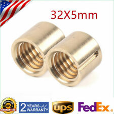 2pcs X Axis Milling Machine Parts Longitudinal Feed Nut Keyway Brass Nut M1069