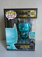 Funko Pop Batman teal Blue Chrome 80 years- SDCC 2019 Exclusive- VER FOTOS