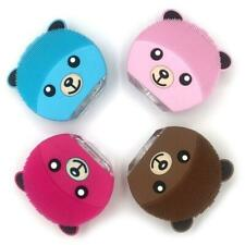 Mini Bear Electric Face Cleansing BrushRechargeable Silicone Facial Cleanser