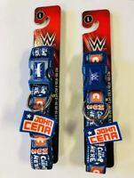 "WWE 5/8 X 8-14"" John Cena Adjustable Dog Collar Large - Pack of 2"