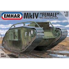Emhar Mk IV 'Female' WWI Heavy Battle Tank 1:72 Brand New & Sealed