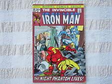 THE INVINCIBLE IRON MAN #44 COMIC night phantom lives