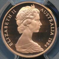 Australia, 1984 Two Cents, 2c, Elizabeth II - PCGS PR69DCAM (Proof)