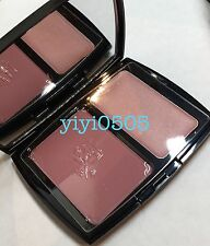 LANCOME Blush Duo Powder Blush&Cream Highlighter Aplum/Perfect Pink FS NEW