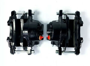 Left & Right Side Black Front Brake Calipers For 1969-1974 Buick Chevy & Pontiac