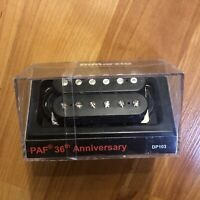 DiMarzio Neck PAF 36th Anniversary Humbucker Black DP103 Regular Spaced Pickup