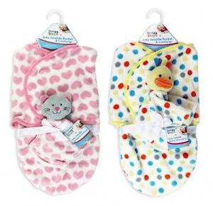 BABY SWADDLE BLANKET COMFORT COMFORTER BABY WRAP 0+ m SWADDLING SLEEPING BAG