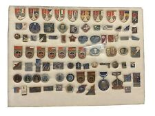 Lot of 80 Soviet Space Pins and Collectibles  **FREE SHIPPING**