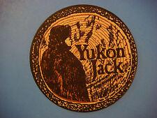 "Beer Coaster: YUKON JACK Liquer ""Black sheep of Canadian Liquors"" Whisky & Honey"