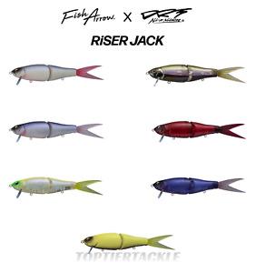 Fish Arrow x DRT Riser Jack Swimbait - Select Color(s)