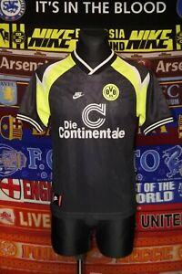 5/5 BVB Borussia Dortmund adults YXL XS 1995 away football shirt jersey trikot