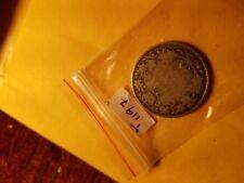 Canada 1912 25 Cent Rare Silver Coin ID#T1197.