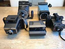 Polaroid, Keystone, Tekno, Cambo, Konvolut von 5 Sofortbildkameras