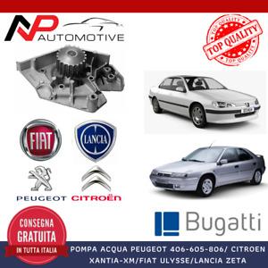 POMPA ACQUA PEUGEOT 406-605-806 / CITROEN XANTIA-XM / FIAT ULYSSE / LANCIA ZETA