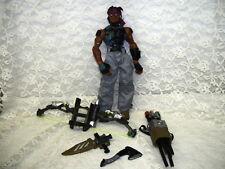"GI JOE SIGMA 6 ACTION FIGURE W/  ACCESORIES 5 PC KNIFE HOLSTER 8"" HASBRO 2005"